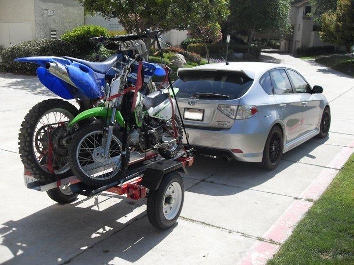 Towing Capabilities Dirtbikehauler on Subaru Wrx Fuel Pump Problem