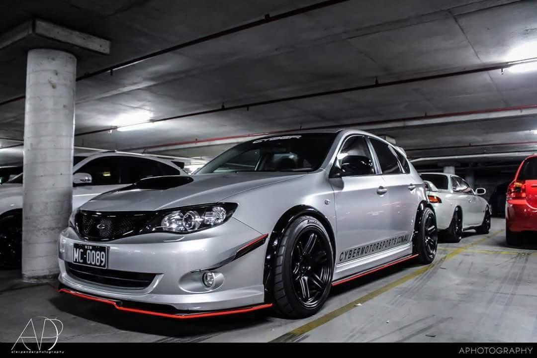 08 09 Narrow Body Flares Lip Sides Gurney Flap Subaru Wrx Forums