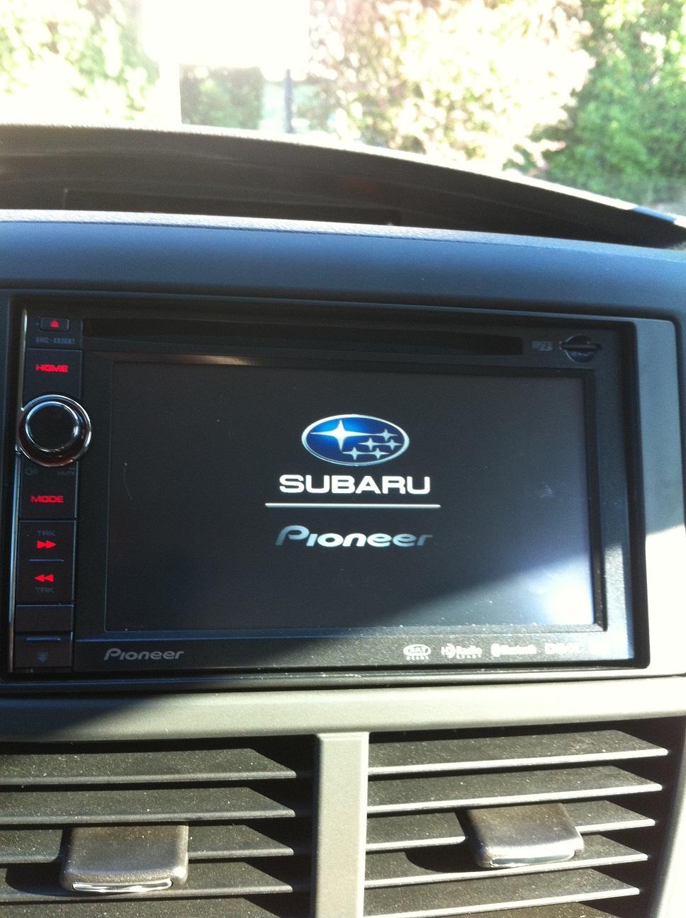 pioneer splash screen