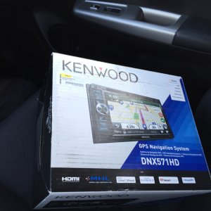 The Kenwood System I put in, I love it, the only thing is that it takes 15-20 seconds to turn on...  thats normal for this model, but it was a great d